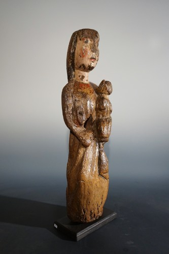 Romanesque Madonna and Child, Spain, XII-XIIIth century -