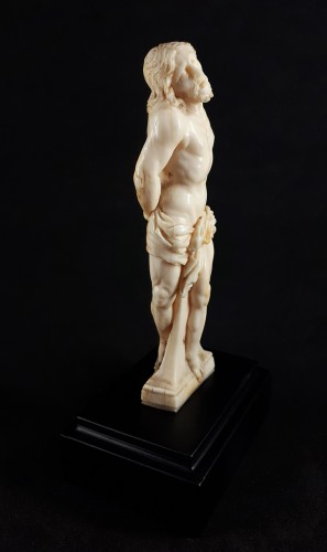 Christ at the Column, Northern Italy or Netherlands, circa 1600 - Religious Antiques Style