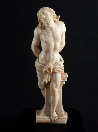 Religious Antiques  - Christ at the Column, Northern Italy or Netherlands, circa 1600
