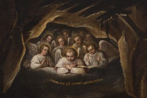 Paintings & Drawings  - Nativity, Spanish School, circa 1600