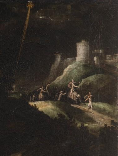 <= 16th century - Nativity, Spanish School, circa 1600