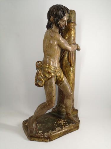 Christ at the Column, Spain 1550-1600 - Sculpture Style Renaissance