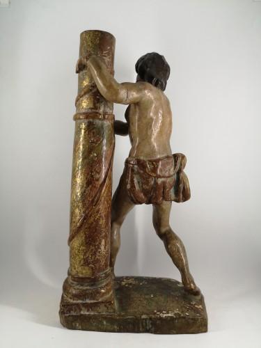 Sculpture  - Christ at the Column, Spain 1550-1600