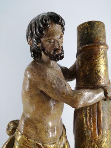 <= 16th century - Christ at the Column, Spain 1550-1600