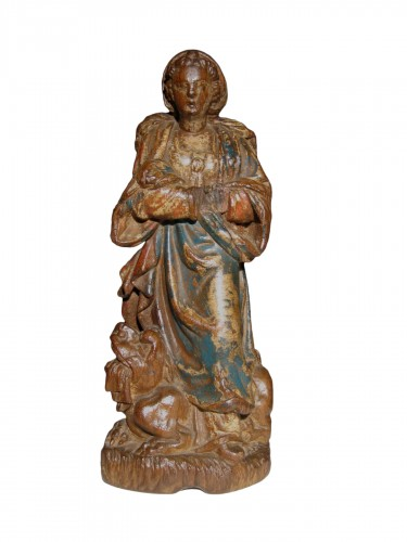 Saint Margaret of Antioch, Flanders early XVIth century