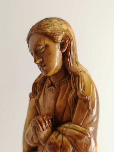 - Indo-Portuguese ivory Madonna, Goa, 17th century