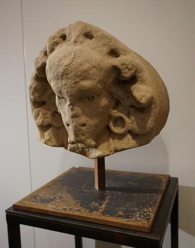 Sculpture  - Renaissance Grotesque head, Castile, XVIth century