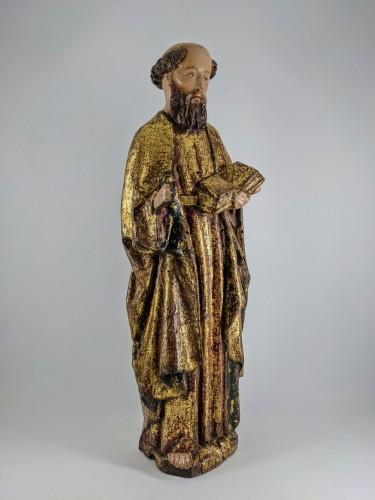 Sculpture  - Saint Peter, Possibly Malines circa 1500