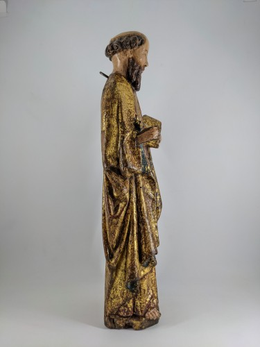 Middle age - Saint Peter, Possibly Malines circa 1500