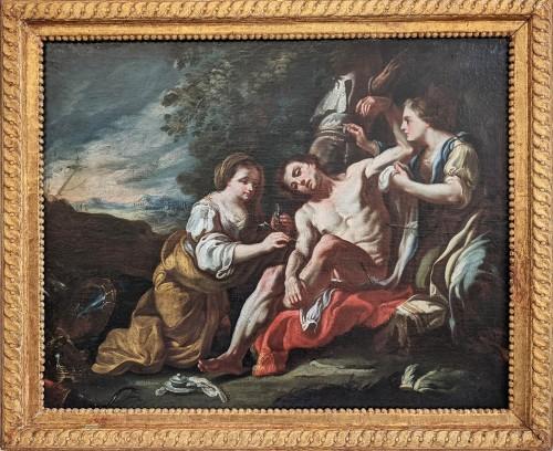 Fedele Fischetti (Naples, 1732 - 1792), St Sebastian tended by St Irene