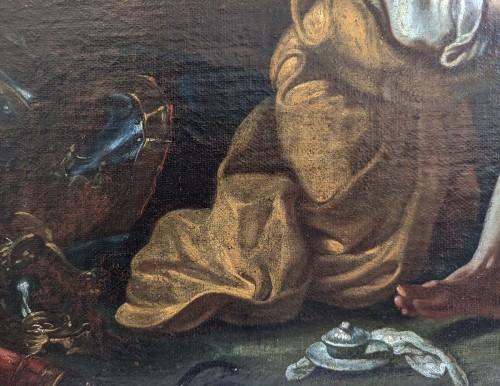 Fedele Fischetti (Naples, 1732 - 1792), St Sebastian tended by St Irene  -