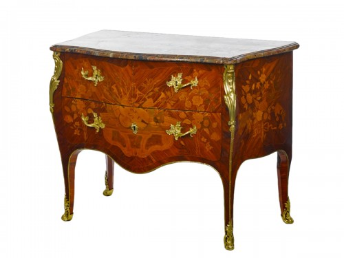 A Louis XV commode stamped René Dubois
