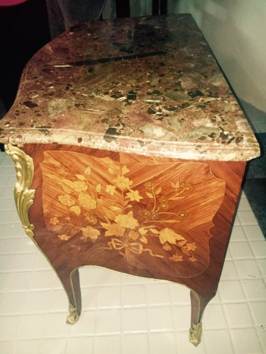 A Louis XV commode stamped René Dubois -