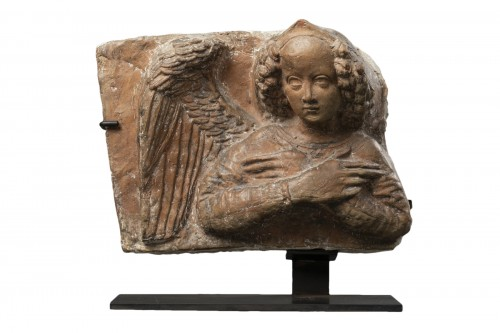 Terracotta angel - Lombardy - 15th century