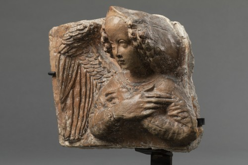 Terracotta angel - Lombardy - 15th century - Sculpture Style