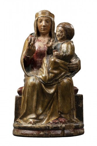 Virgin of majesty - Eastern Pyrenees - early 14th century