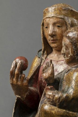 Sculpture  - Virgin of majesty - Eastern Pyrenees - early 14th century