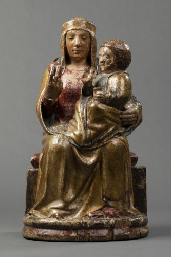 <= 16th century - Virgin of majesty - Eastern Pyrenees - early 14th century