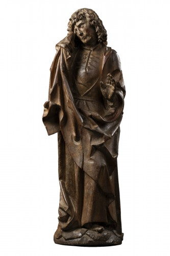 Saint John of Calvary in lime tree - Bavaria - Early 16th century