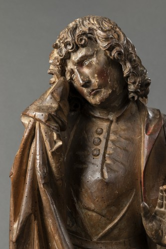 Saint John of Calvary in lime tree - Bavaria - Early 16th century -