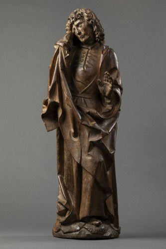 Saint John of Calvary in lime tree - Bavaria - Early 16th century - Middle age