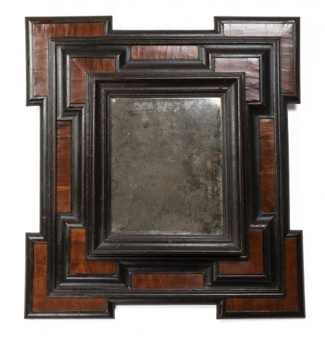 Geometric mirror - Lombardy - 17th century