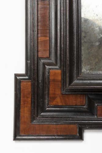 Geometric mirror - Lombardy - 17th century - Mirrors, Trumeau Style
