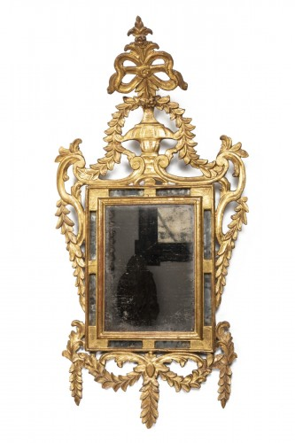 Gilded wooden mirror - Louis XVI