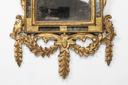 Gilded wooden mirror - Louis XVI -