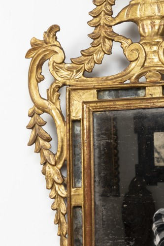 18th century - Gilded wooden mirror - Louis XVI