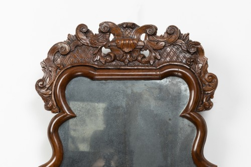 Queen Anne Mirror - England - England -  early 18th century  - Mirrors, Trumeau Style