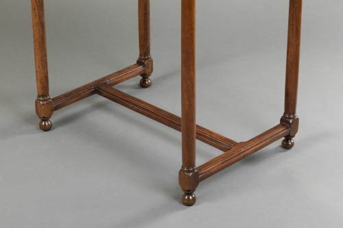 "Furniture  - Walnut ""Chartreux"" table - France - Circa 1600"