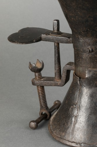 Curiosities  - Wrought iron coffee grinder - France - Louis XIV