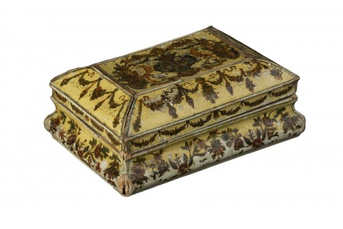 Cartapesta writing box - Italy - 18th century