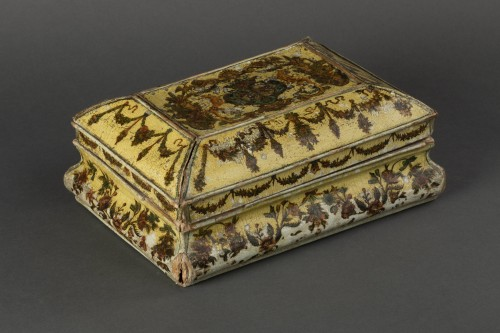 Cartapesta writing box - Italy - 18th century - Objects of Vertu Style