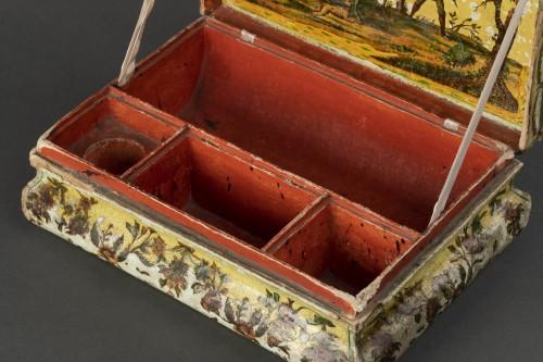 Objects of Vertu  - Cartapesta writing box - Italy - 18th century