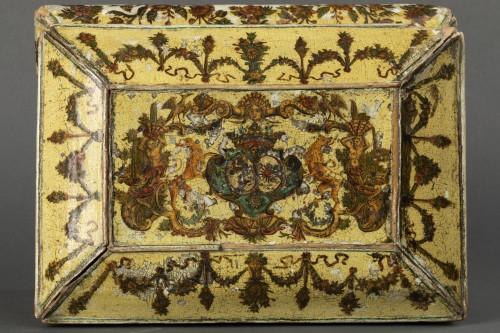 - Cartapesta writing box - Italy - 18th century