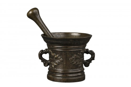 Bronze mortar - Germany - 17th century