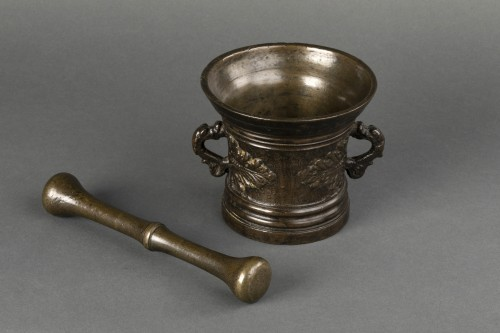 Bronze mortar - Germany - 17th century -