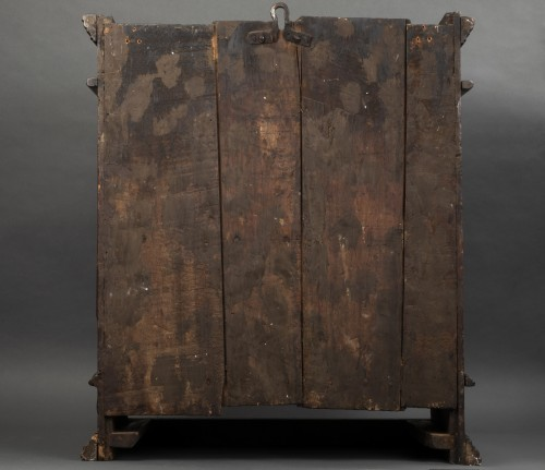 Bolognese walnut wardrobe - late 16th century -