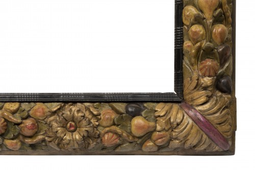 Frame with fruit decoration - Northern Italy - 17th century - Decorative Objects Style