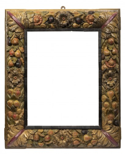 Frame with fruit decoration - Northern Italy - 17th century -