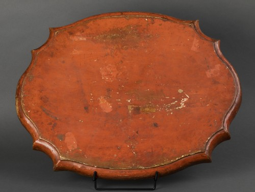 Decorative Objects  - Wooden tray and arte povera - The Marche - early 18th century