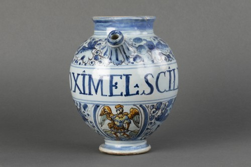 Chevrette in faïence - Faenza - End of the 16th century - Porcelain & Faience Style