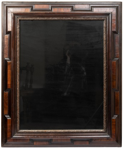 Large two-tone mirror - Lombardy - 17th century - Mirrors, Trumeau Style