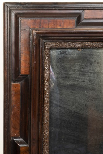 Large two-tone mirror - Lombardy - 17th century -