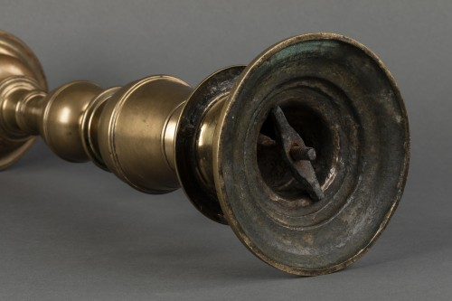 Gilded bronze candlestick - Tuscany - end of the 16th century -