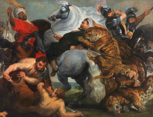 Tiger hunting - Antwerp - Early 17th century