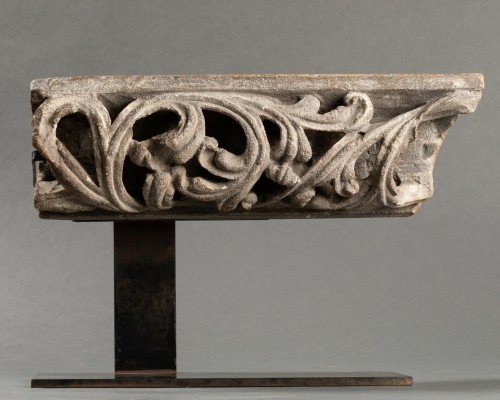 <= 16th century - Fragment of an openwork frieze - France - 14th century