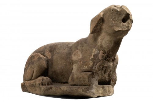 Figure of a dog - Italy - 16th century